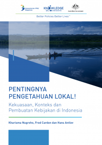 Blue Cover includes image of long boat drifting down secluded river with large family in boat